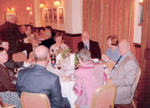 AGM 2004 Middle Wallop October 7th 8th-MC dinner