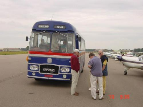 Orford Ness June 24th 2004-FF arrive at Bentwaters jpg