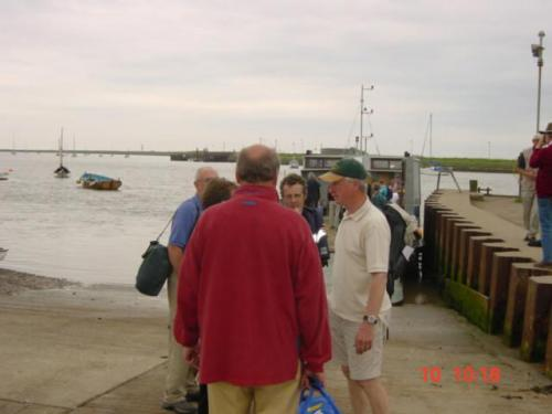 Orford Ness June 24th 2004-Waiting for Ferry to the Ness jpg