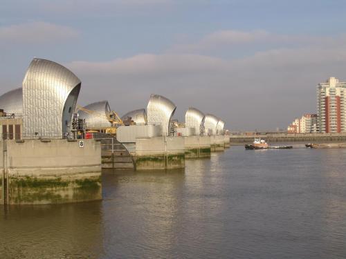 Thames Barrier  5th February 2007-Thames Barrier 004