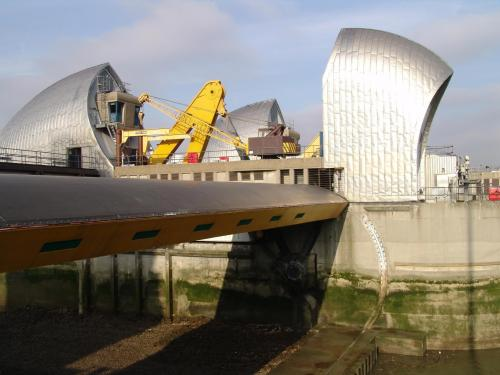 Thames Barrier 5th February 2007-Thames Barrier 010