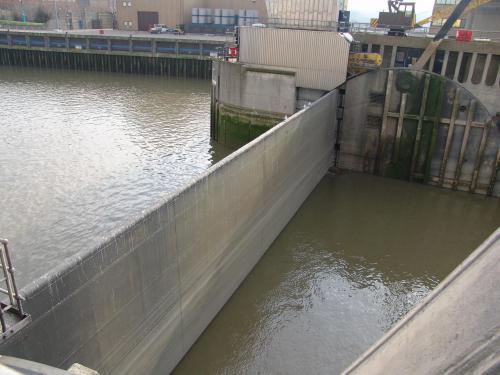 Thames Barrier  5th February 2007-Thames Barrier 026