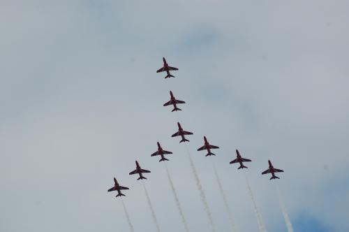 Red Arrows June 2009